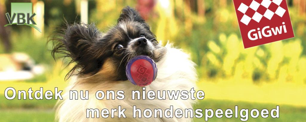 Nieuw hondenspeelgoed Gigwi